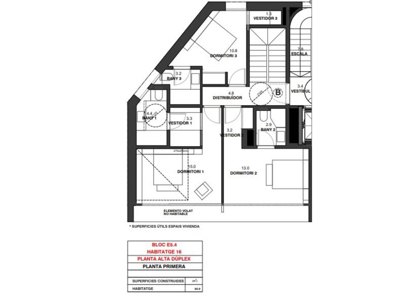 Duplex en venda en L'Aldosa