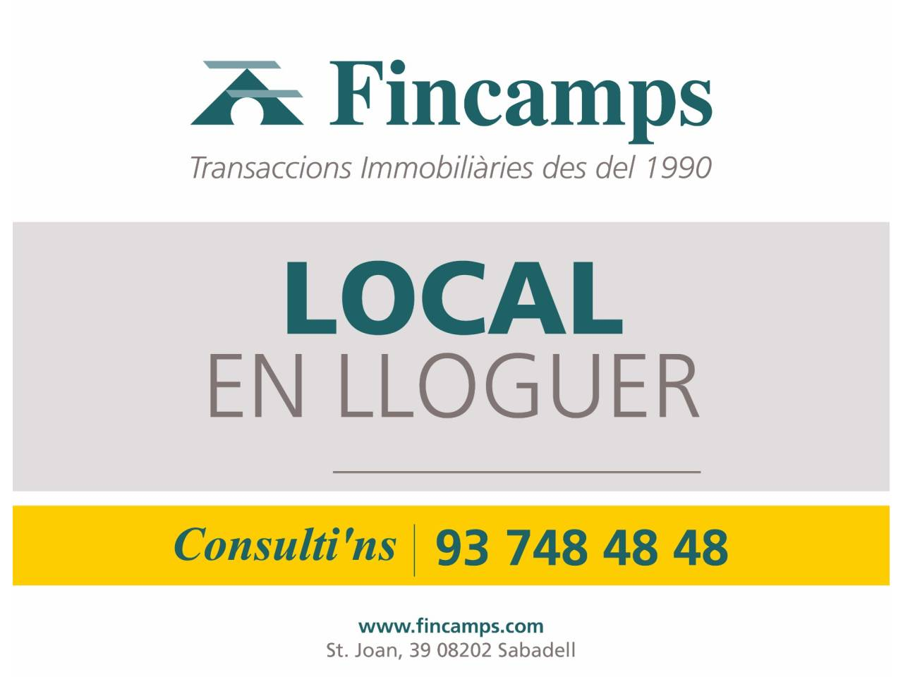 Fincamps for Oficina trafico sabadell