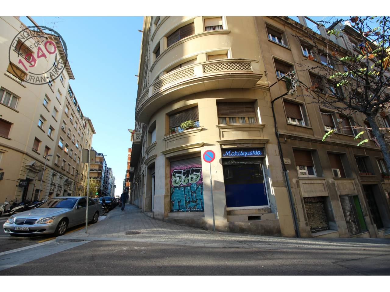 Local comercial de  lloguer a La Dreta de l´Eixample - Zona Sant Gervasi-