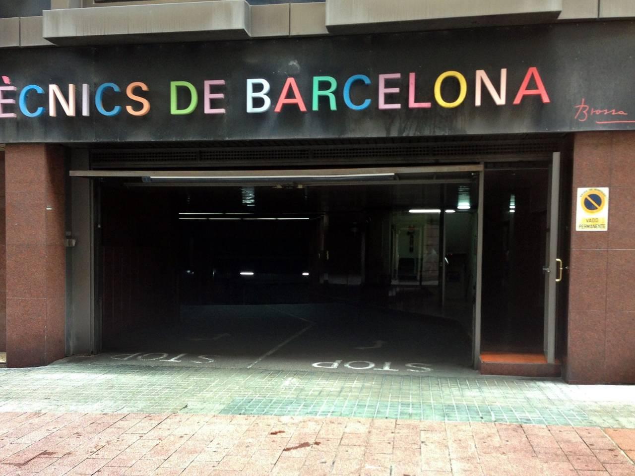 Pàrquing a lloguer Sant Gervasi-Galvany (Barcelona Capital)