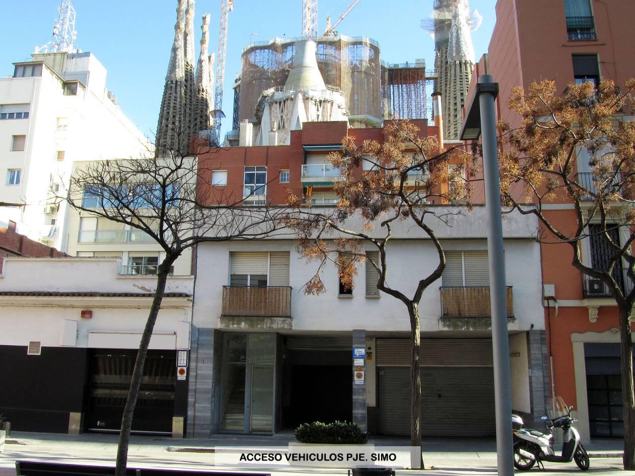 Parking en alquiler La Sagrada Família (Barcelona Capital)