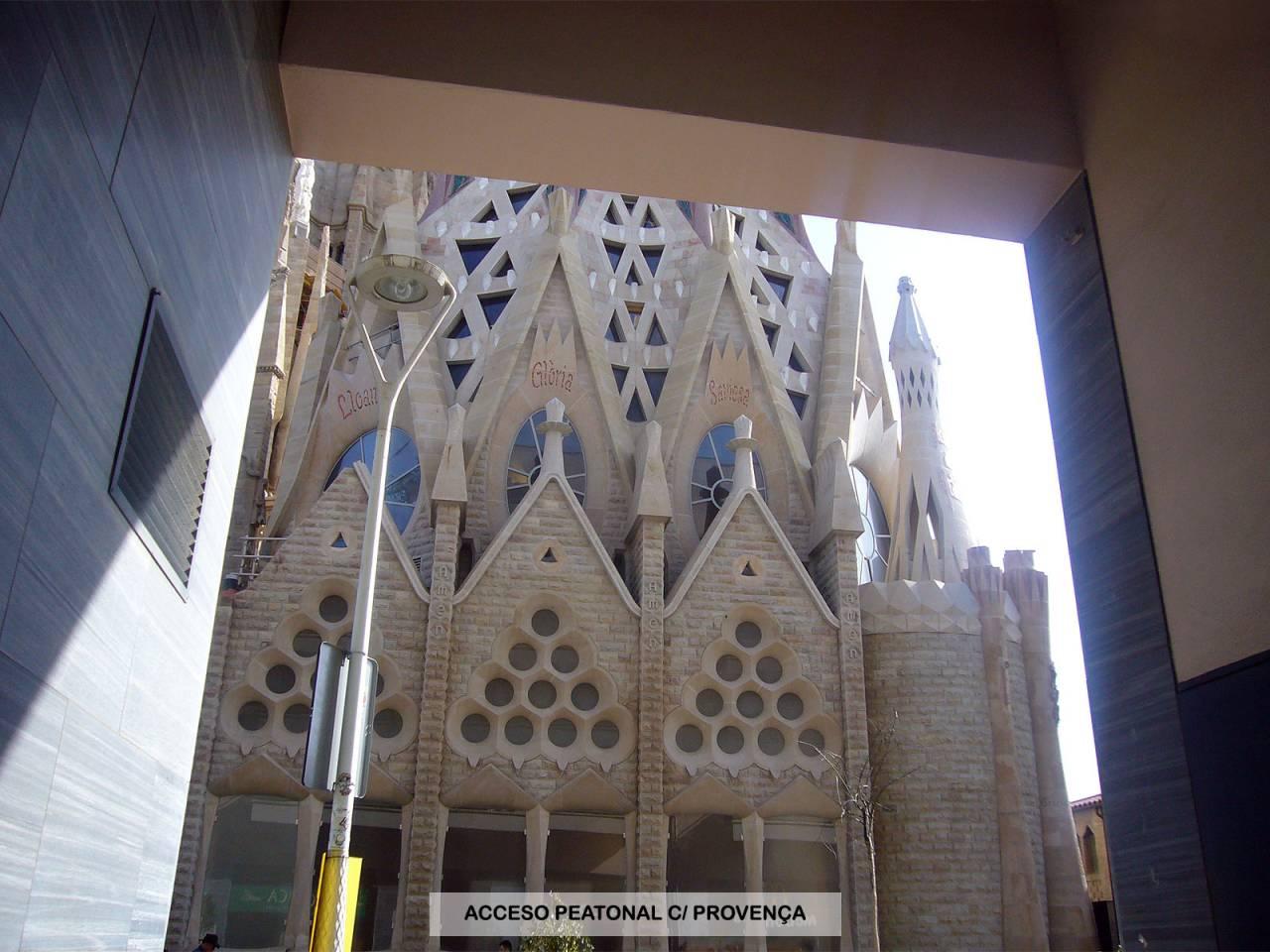 Pàrquing a lloguer La Sagrada Família (Barcelona Capital)