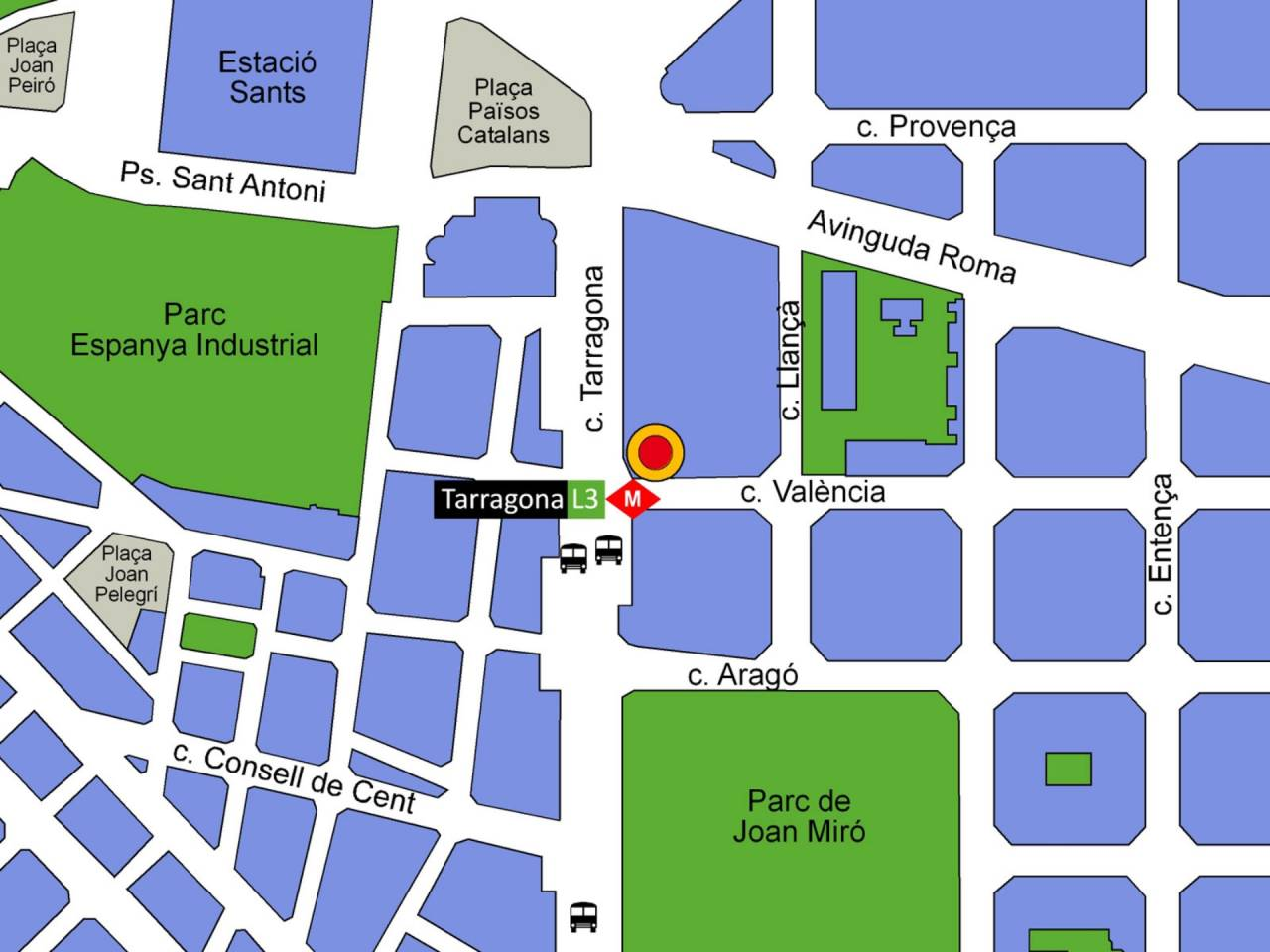 Local comercial a lloguer La Nova Esquerra de l'Eixample (Barcelona Capital)
