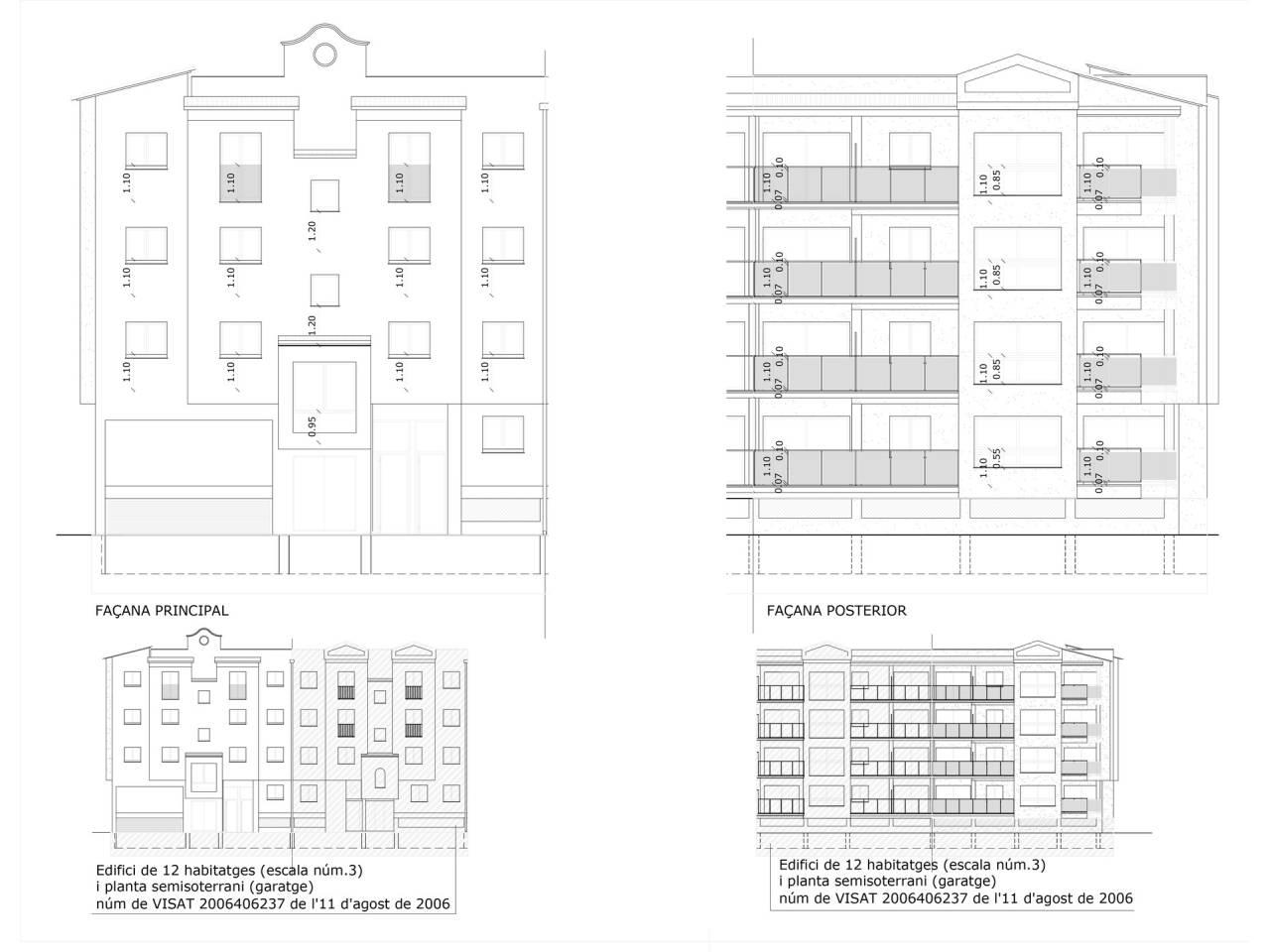 061944 - MIMOSES Attique en construction avec jardins communaux et piscines