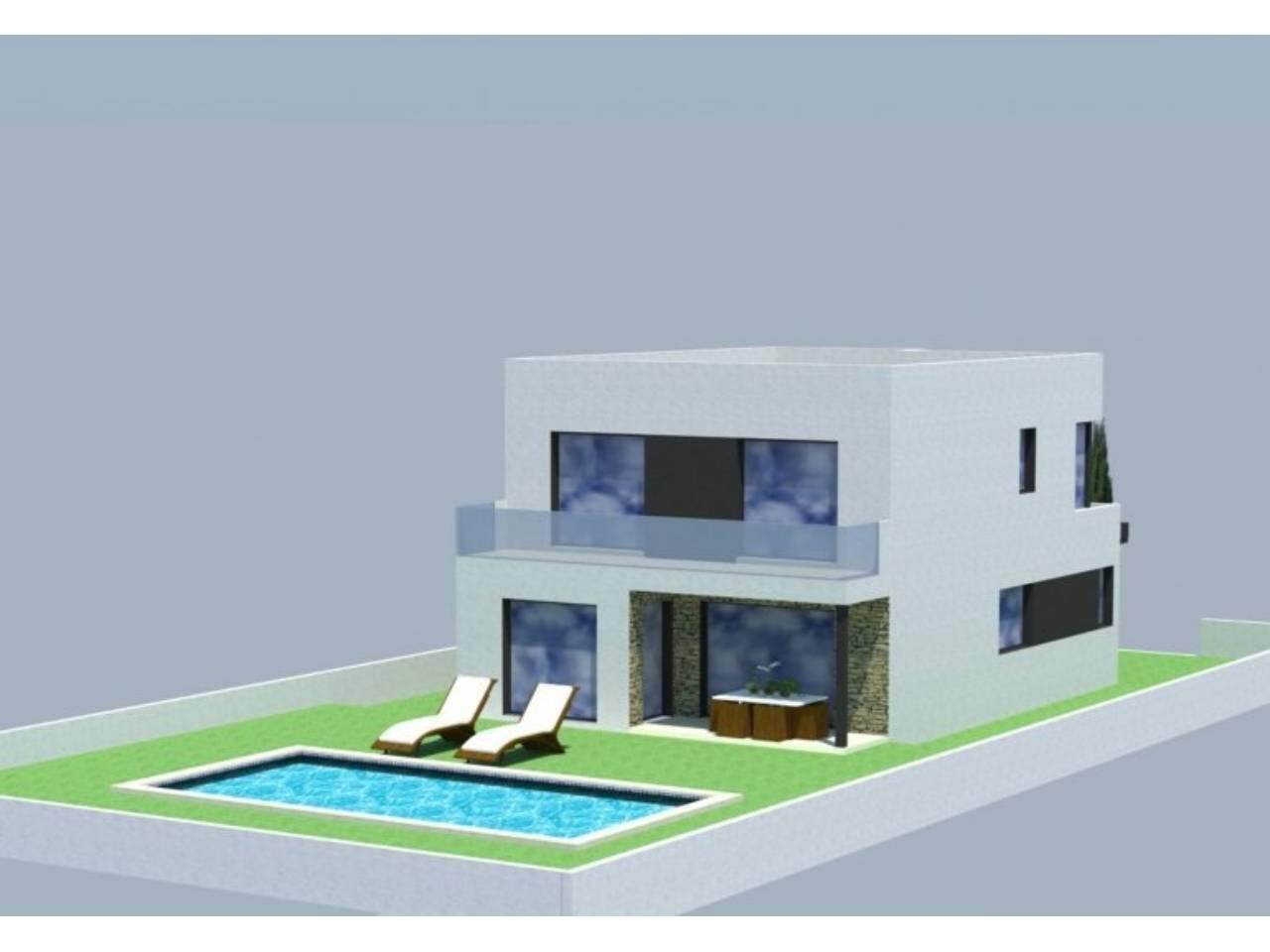 060246 - ROSES -LA GARRIGA House model REQUESENS