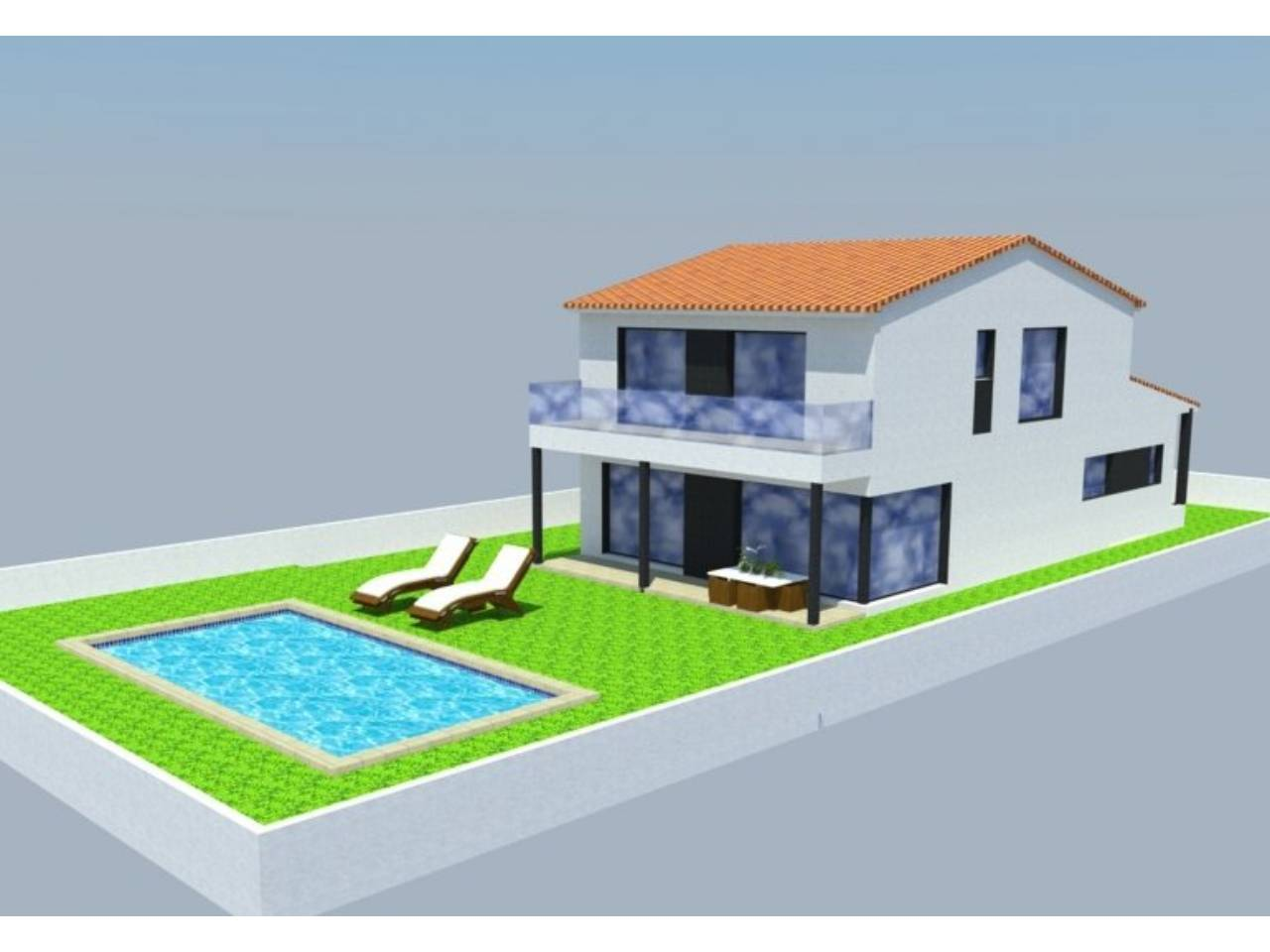 060346 - ROSES -LA GARRIGA House model RODA