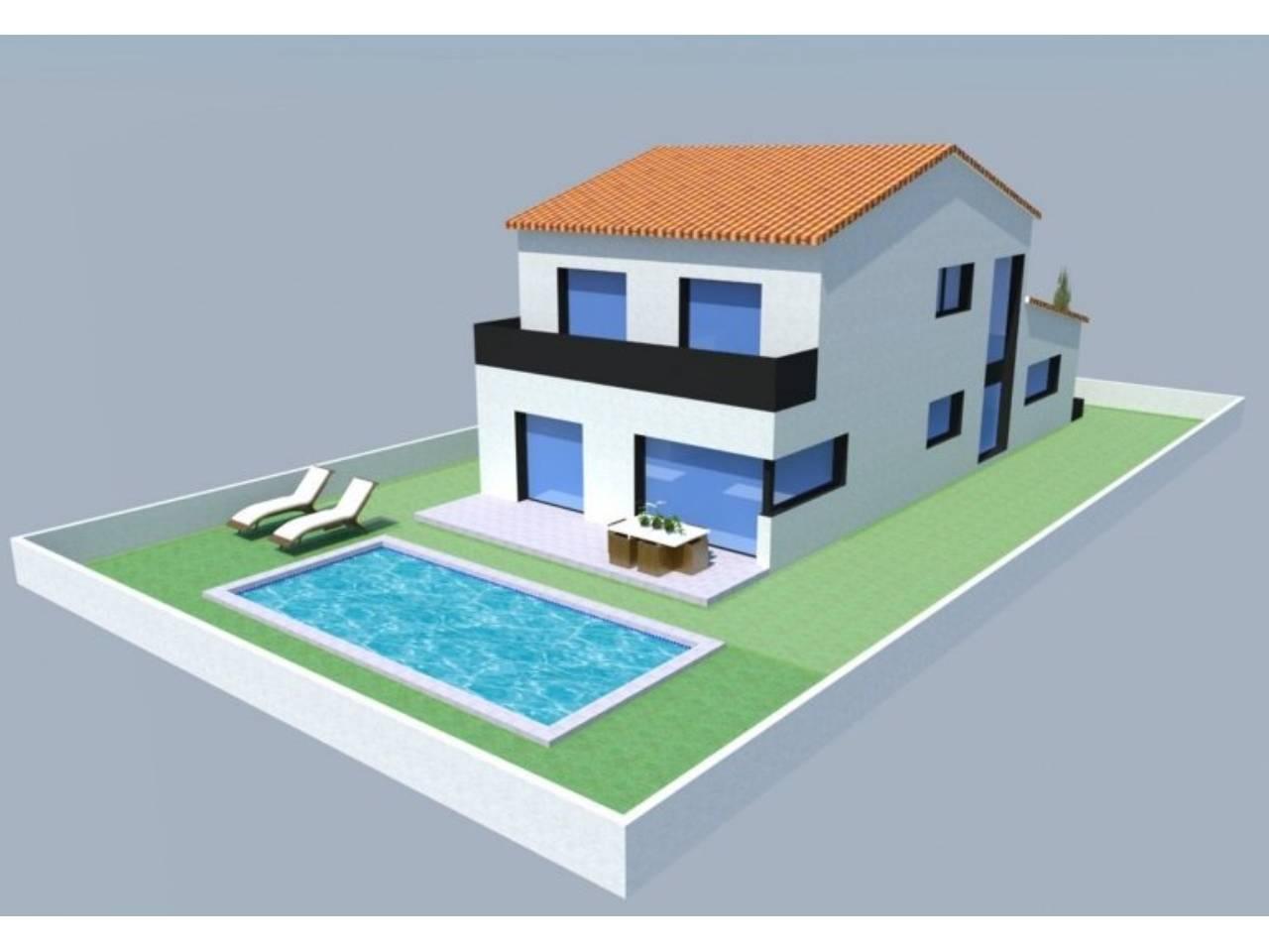 060446 - ROSES -LA GARRIGA House model PERALADA