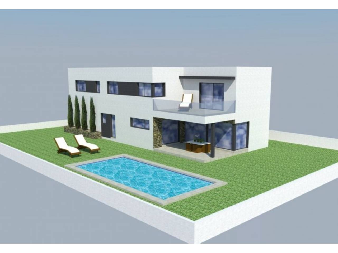 060547 - GARRIGUELLA House model GARRIGUELLA