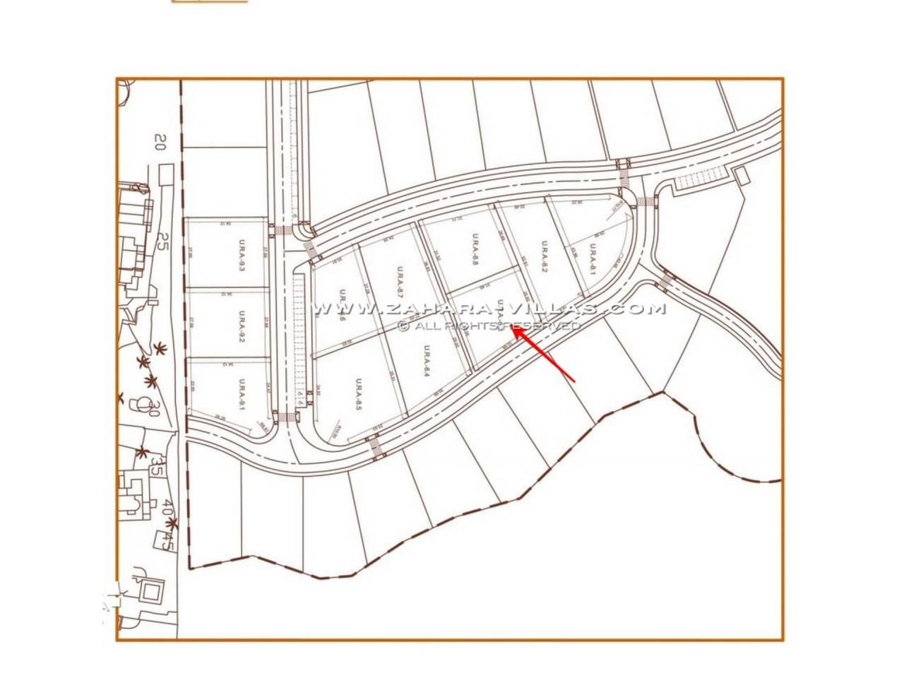 Imagen 5 de Plot in Atlanterra Area, within a new residential with sea views and the future Golf Course
