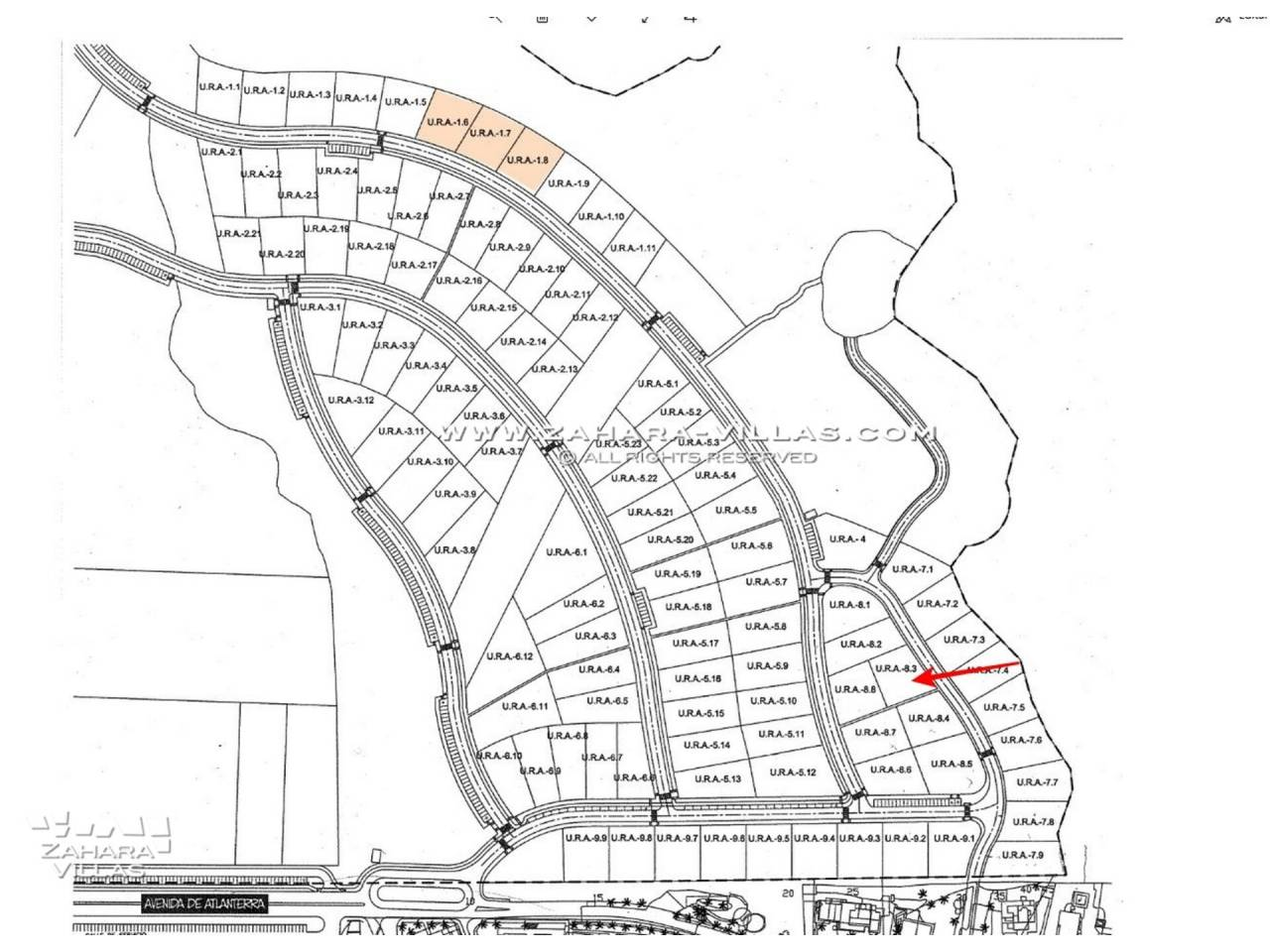 Imagen 6 de Plot in Atlanterra Area, within a new residential with sea views and the future Golf Course