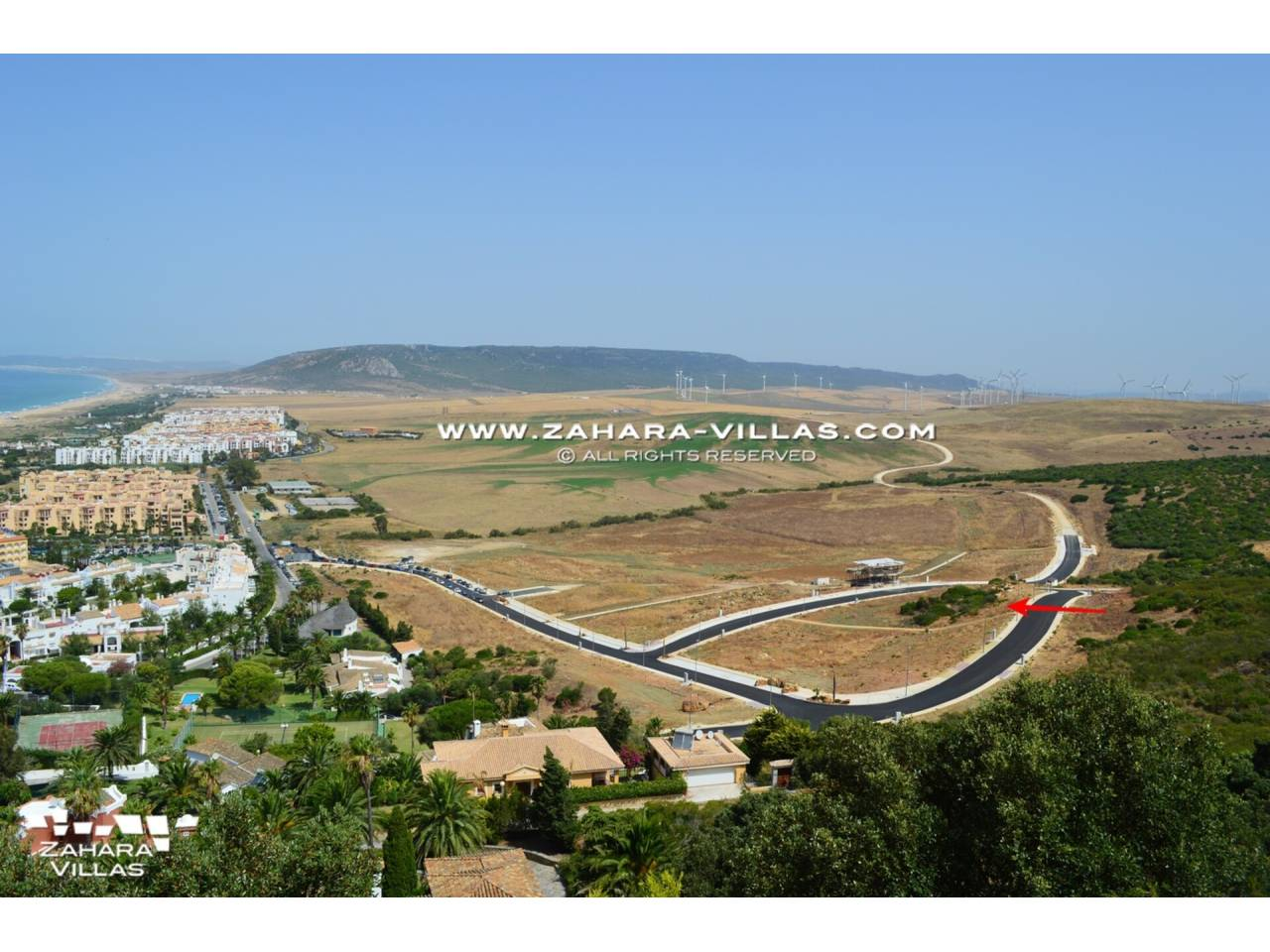 Imagen 1 de Plot in Atlanterra Area, within a new residential with sea views and the future Golf Course