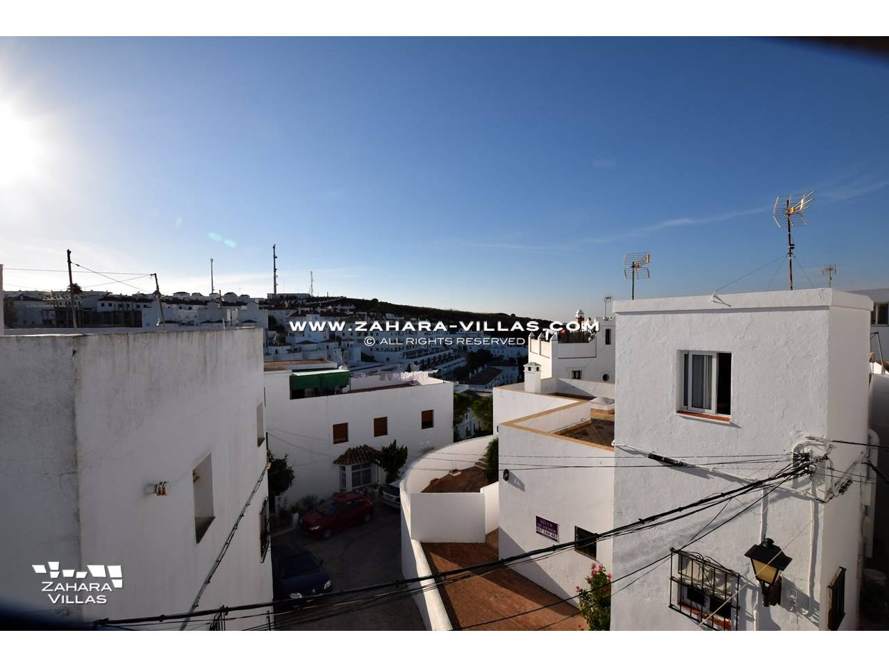 Imagen 1 de House in the centre of the old town with two large terraces with wonderful views