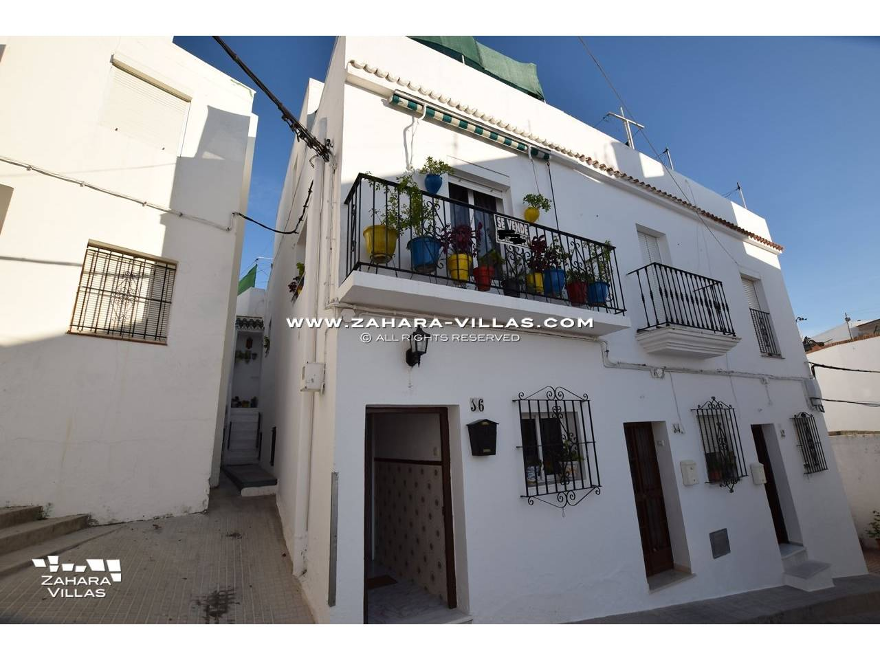 Imagen 2 de House in the centre of the old town with two large terraces with wonderful views