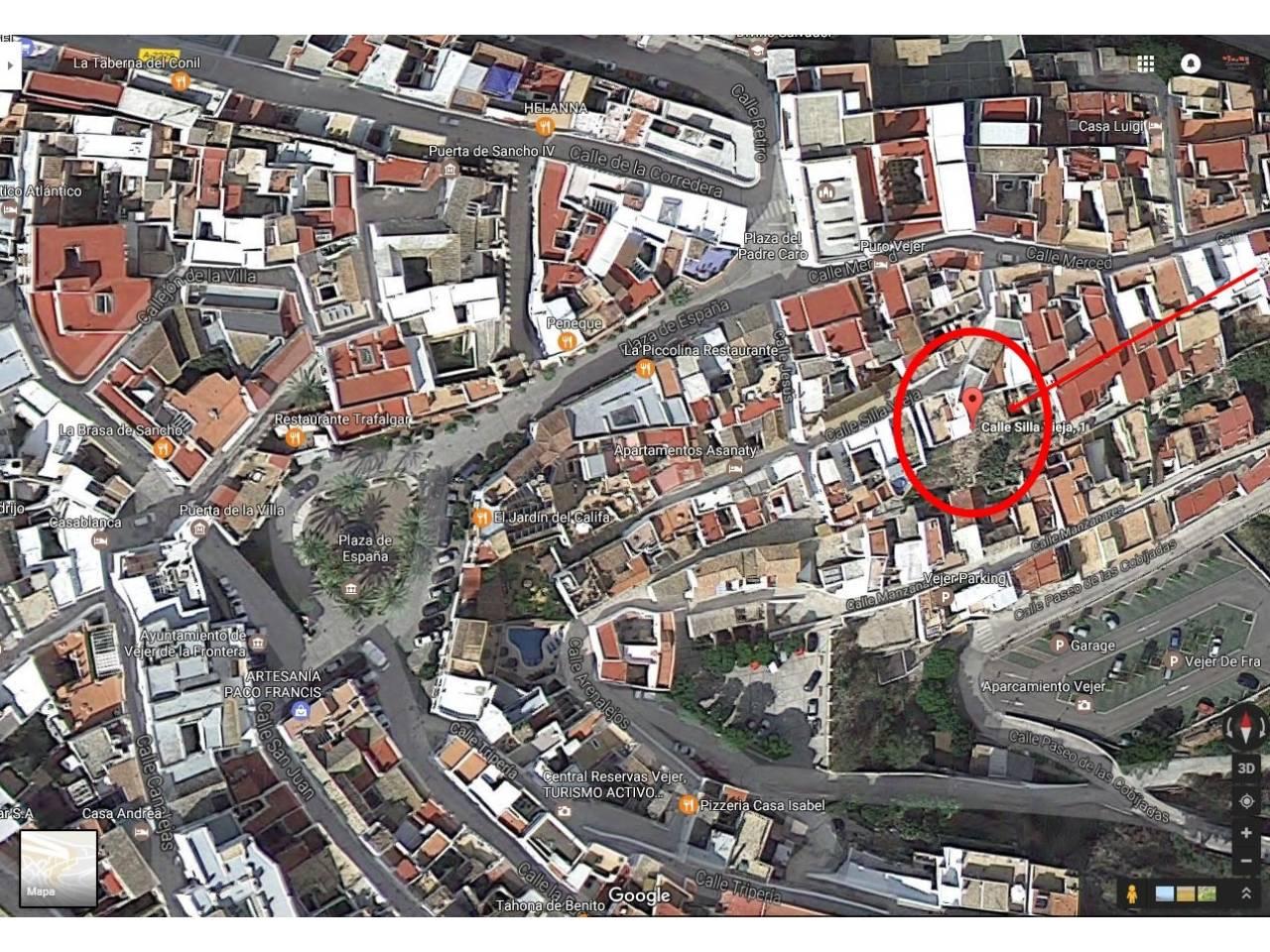 Imagen 20 de House, Apartment and Plot to build in the historic center of Vejer de la Frontera