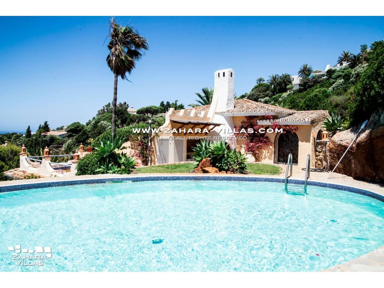 Imagen 2 de Estupendo Chalet Andaluz con impresionantes Vistas al mar
