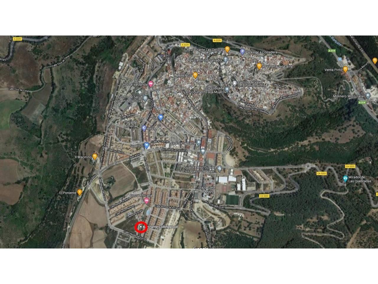 Imagen 1 de Baugrundstuck zum verkauf in Vejer de la Frontera