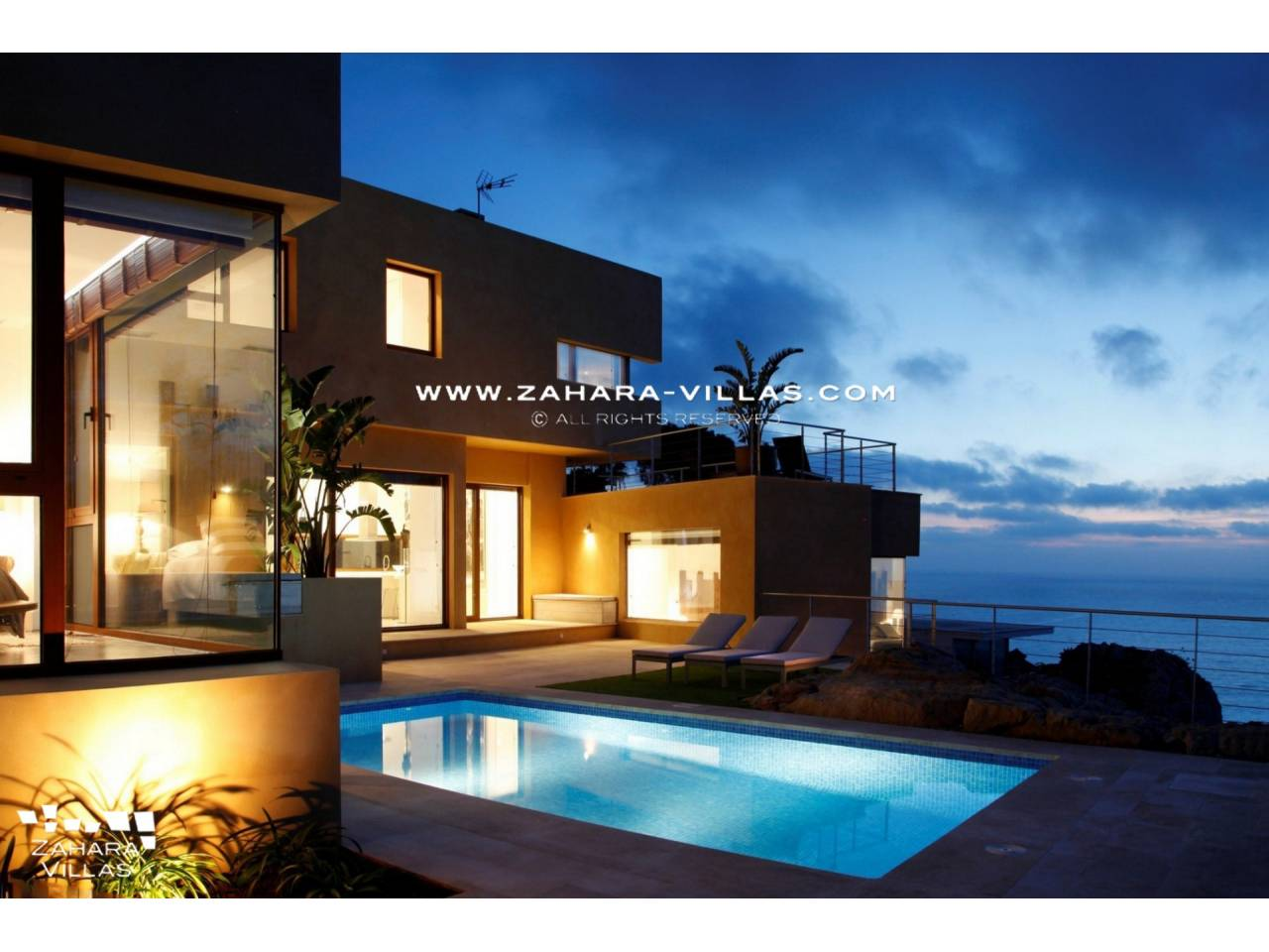 Imagen 3 de Beautiful Villa with sea views in Atlanterra