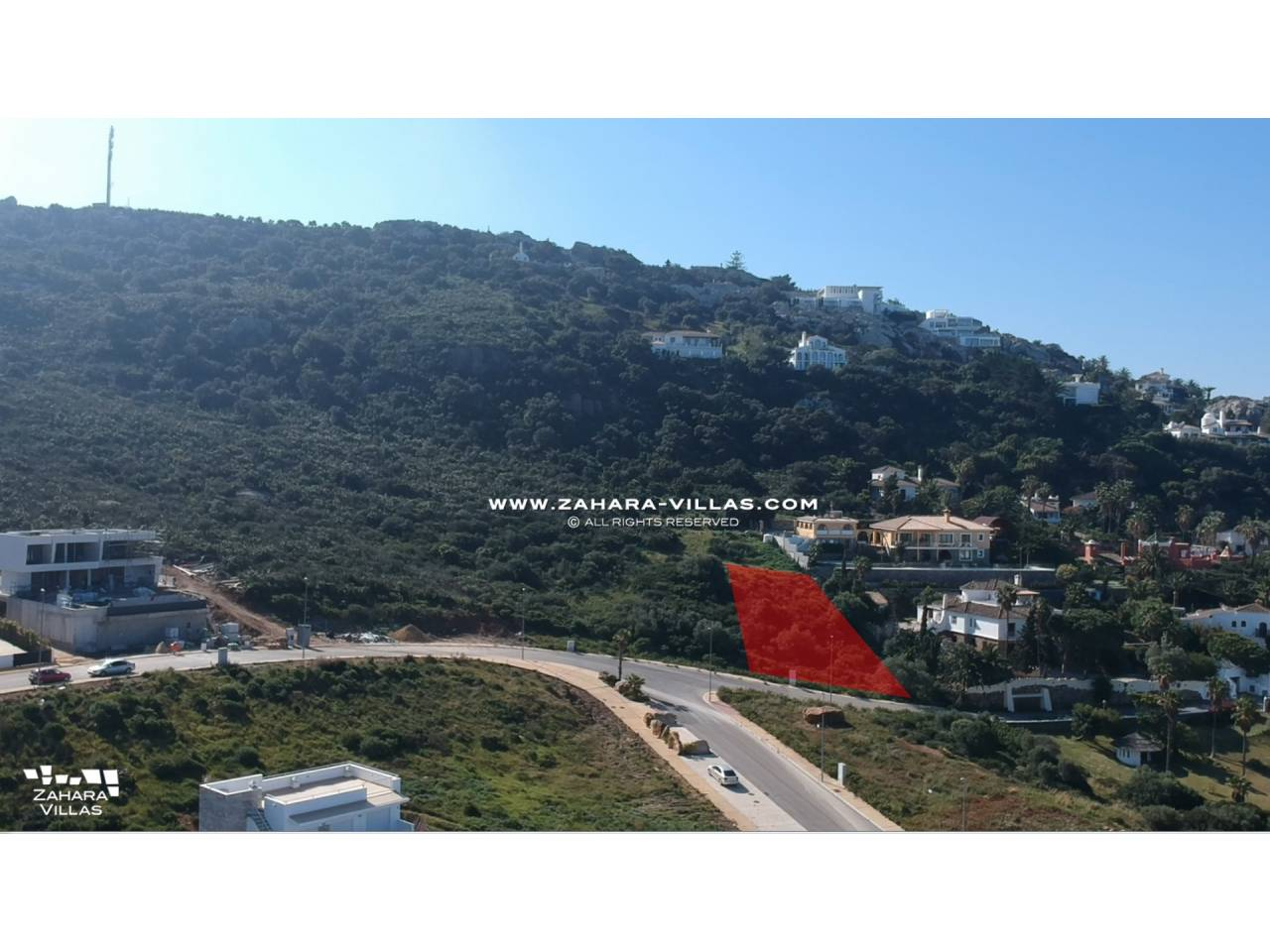 Imagen 1 de Plot in a new residential area overlooking the Sea and the future Golf Course