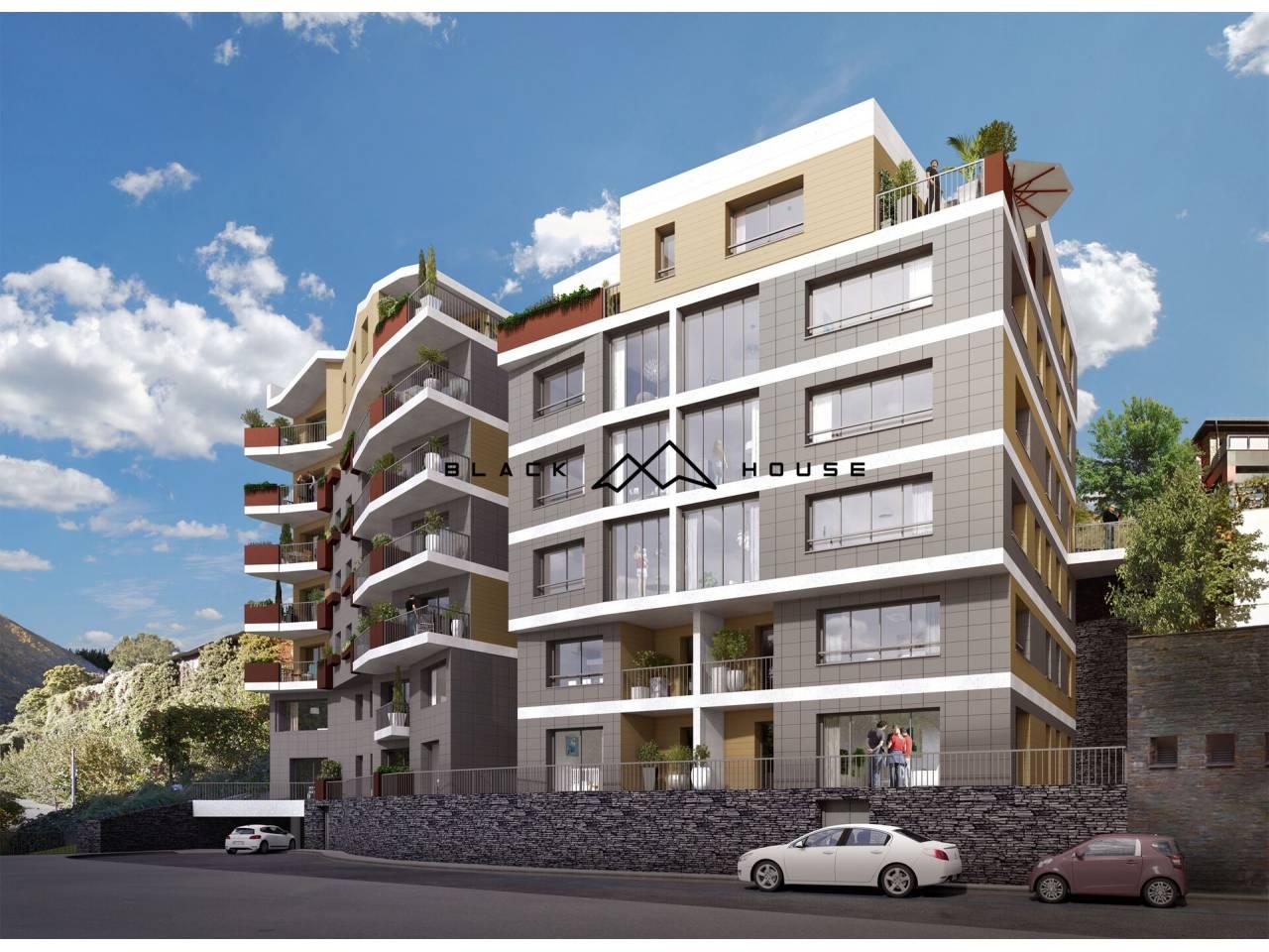 Fabulosa promoció d'obra nova de luxe, situada en zona residencial d'Escaldes molt tranquil·la i assolellada.