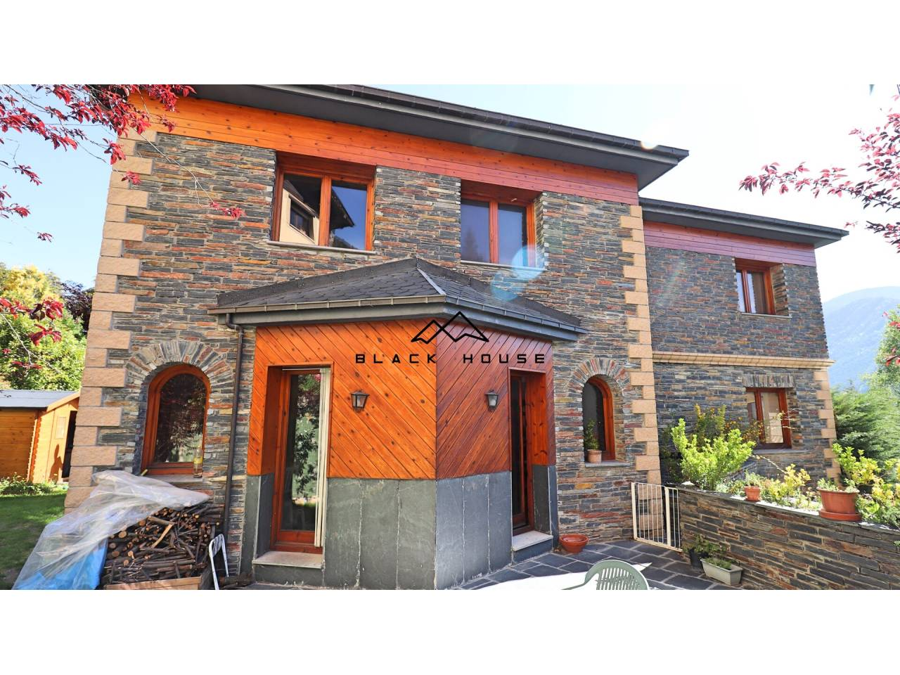 Great detached house for sale in a privileged area of La Massana.