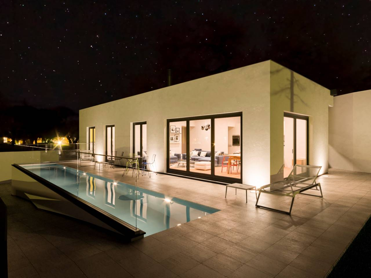 Casa 4 vientos próxima a construir con piscina